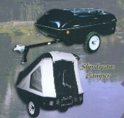 Slipstream One Man Motorcycle (And Small Car) Towable Camper Trailer