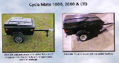 CM LTD Cyclemate Cargo Trailer (CM2000 with additional features)