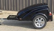 Blade model motorcycle towable cargo trailer