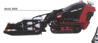 "BW42045 Toro Pickup Plate to allow you to mount the Brush Wolf mower (42"" or 48"") to your Toro Mini-Skid Steer Machine"