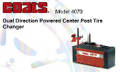 Model 4070 Coats Dual Direction Powered Center Post Tire Changer