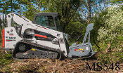 WLMS548-A450 Skid Steer Mounted Brush Mulcher