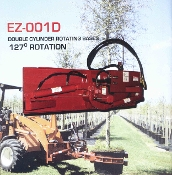 Model EZ001D Double Cylinder Base Plate And Available, Optional, Attachments