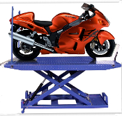 Model M-1500C-HR Motorcycle Lift