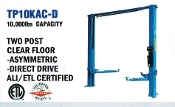 Model TP10KAC-D Auto Lift with 10,000 lbs. lift capacity ALI/ETL Certified