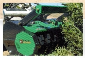 FHX66 Defender Mulcher 66 Inch Cutting Width, hydraulic powered forestry mulcher