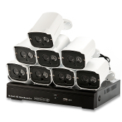CVYW-I438 8 Channel NVR W/Outdoor Night Vision Cameras