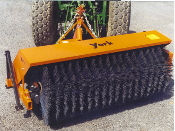 009877 YB327 York 7 Ft. Wide PTO Drive Tractor Mount Sweeper