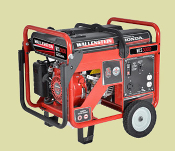 WCS3000 Wallenstein Contractor Series Generators Honda Engine