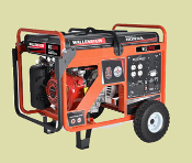 WCS5000 Wallenstein Contractor Grade Generators Honda Engine