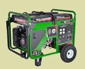 WCS7000Wallenstein Contractor Grade Generator With Honda Engine