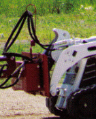 EZ-00CR EZ-Spot-UR Rotating Base Plate Walk Behind Loaders