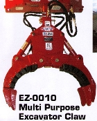 EZ-0010 Multi-Purpose Excavator Claw EZ Spot Ur