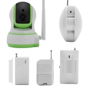 VAGZ-I509 Home Alarm System Wi-Fi IP Camera Android
