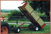 8300 Four Wheel Wagon 2 Ton Capacity