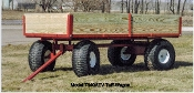 7340ATV Tuff Wagon With Large Flotation Wheels