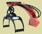 LXG320S Three Point Hitch Log Grapple