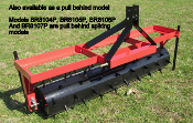 BR8107P Pull Behind Drum Type Spiking Aerator 7 ft. Wide