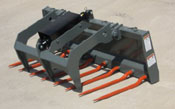 WOM/SG-72S Manure Silage Debris Fork With Grapple 72 Inches