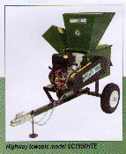 Model SC1650HTE Highway Towable Chipper/Shredder