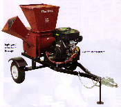 SC183-18VE Tow Behind Engine Powered Professional Series Chipper/Shredder