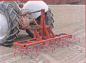 RC-8 multi-wheel rotary harrow