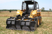 Model 222550 Double Add-A-Grapple Model For Skid Steer Loaders With Buckets 65 To 87 Inches Wide
