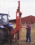 Model HD8-SHMB01A Tractor Mounted Hydraulic Post Driver With 30,000 Lbs. Of Driving Force