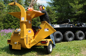 Model WLBXMT4224 Trailer Mounted Tow Behind Chipper/Shredder