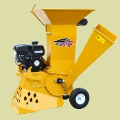 Model BXMC32S Chipper/Shredder - reduces material using a shredding screen and drops material on the ground.