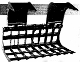 Model 60LFRG standard series Root Grapple for skid steer loaders up to 75 hp.