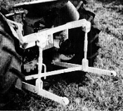 Model HK-90 three point hitch for IHC/Farmall standard Cub tractors, hitch is category 0 and 1