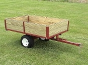 Model 5400 Single Axle Trailer With 1200 lbs. load capacity
