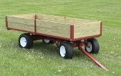 Model 6300 One Ton Versitility Wagon with 6 ft. long bed