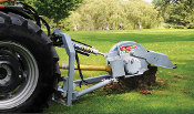 WL3P24 Tractor three point hitch mounted, pto powered stump grinder