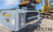 Model WLMX530-A450 Excavator Mounted Brush Mulcher