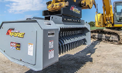 Model WLMX548-C530 Excavator mounted brush mulcher, 48 inch wide cutting path