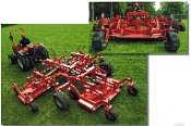 Model 420-SFLA Befco Cyclone Super-Flex Gang Type, PTO Powered Grooming/Finishing Mowers