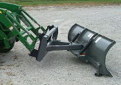 Model WOSBJD-2160 Snow blade to fit John Deere series 200, 300, and 400 loaders with the JD QA System