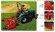 Model C50-RD6A Befco Finishing Mower for tractors from 20-50 hp, with air tires, 6 ft. wide cutting deck