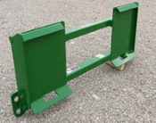 835070 Adapter Plate Skid Steer To John Deere 400/500 Implements