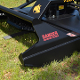 7201LF Brush Wolf Open Front Skid Steer Mount Brush Mower