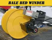 Model PTBBWW Hydraulic Wire Winder For Mounting On Bale Bed Arms
