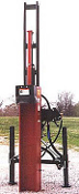 HPD-16 Center Mount Three Point Hydraulic Post Driver
