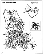 1013-97 Throttle Control Manual Choke Mclane Reel Mower After 97