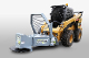 DSH230 Horizontal Fixed Position Tree Saw For Mini Skid Steer