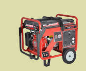 WHS3000 Cart Mounted Wallenstein Generator Honda Engine 3000 W