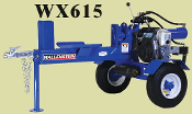 WX615-SU Wallenstein Engine Powered Tow Behind Logsplitter