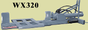 WX320 Three Point Hitch Log Splitter 36 Inch Long Stroke