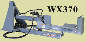 WX370 3 Point Mount Log Splitter Pivoting Horizontal/Vertical
